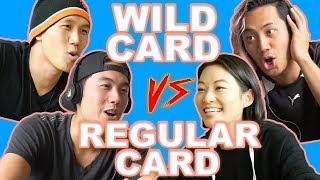RYAN & ARDEN CHO WHISPER CHALLENGE VS WILD CARD