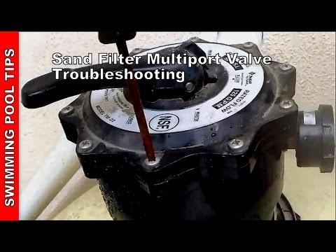 Sand Filter Multiport Valve Troubleshooting Sand Filter
