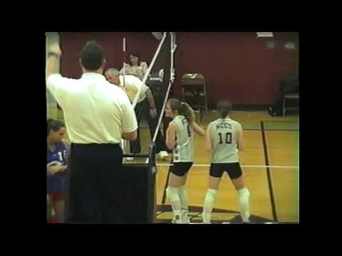 NCCS - AuSable Valley Volleyball 2-9-04