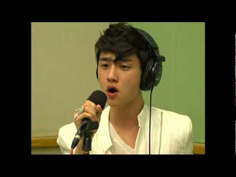 120507 EXO-K D.O &Baek Hyun &Suho - Angel Live@Sukira Kiss the Radio