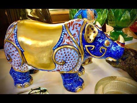Назад в прошлое!!! Блошиный рынок Антиквариат Винтаж Фарфор №2 Ареццо photo