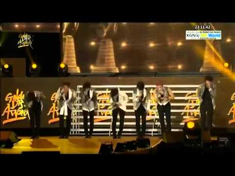 130119 INFINITE - The Chaser + Paradise @Golden Disk Awards 2013 in Malaysia.flv