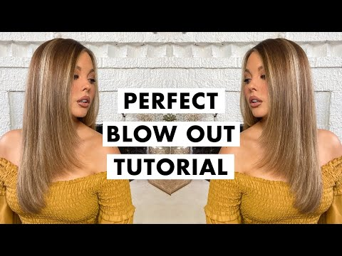 How To: Sleek Salon Blow Out At Home