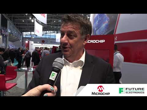 Future Electronics at Electronica 2018: Meeting with Microchip