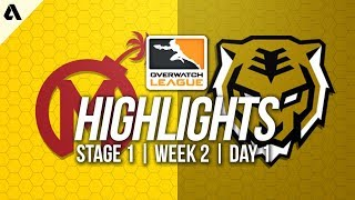 Florida Mayhem vs Seoul Dynasty ft Ryujehong TviQ | Overwatch League Highlights OWL Week 2 Day 1