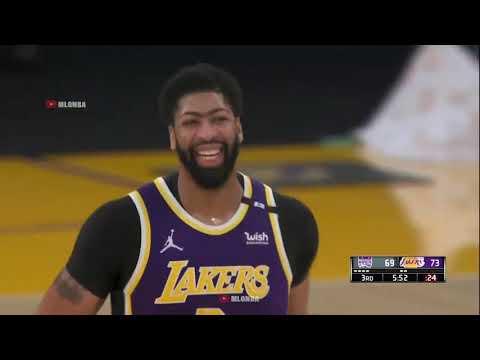 湖人vs國王 例行賽 Highlights   2020 21 NBA Season