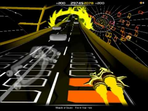 Audiosurf: Fire In Your Hole - Miracle Of Sound (Shoop Da Whoop Edition)
