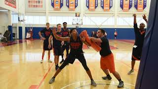 Syracuse University Basketball first practice