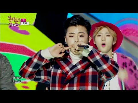 【TVPP】Block B - H.E.R, 블락비 - 헐 @ 2014 MVP Special, Show Music core Live