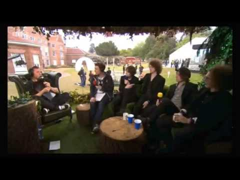 Catfish and the Bottlemen interview at BBC Radio 1's Big Weekend (Norwich 2015)