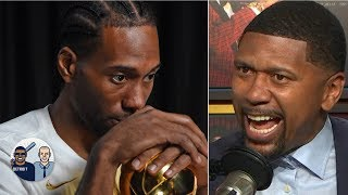 Jalen Rose warns Kawhi against joining the 'JV' Clippers   Jalen & Jacoby