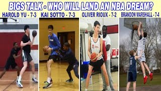 WHO AMONG THE GIANTS WILL LAND AN NBA DREAM? - Part-1