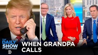 Trump's Never-Ending Phone Call   The Daily Show