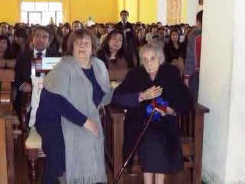 Homenaje Pastora Anita Reyes