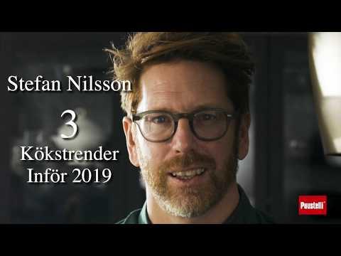 Stefan Nilsson - Tre kökstrender inför 2019