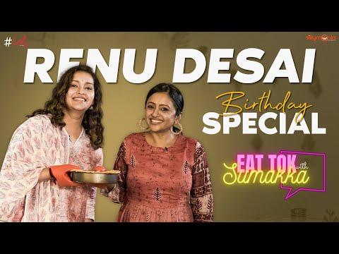 Renu Desai cooks apple pie on 'EAT TOK with Sumakka' show