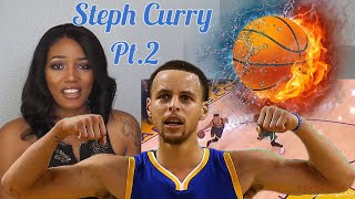 Clueless New NBA Fan Reacts to Steph Curry Highlights