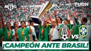 Futbol Retro: ¡México campeón de  Copa Oro ante Brasil! | México 1 - 0 Brasil Copa Oro 2003 | TUDN