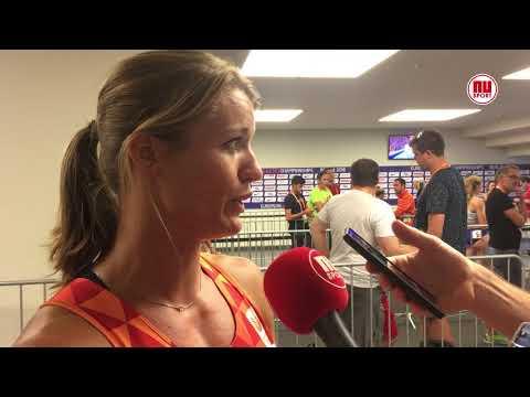 Schippers na halve finale 200 meter: 'Het voelde weer als vanouds'