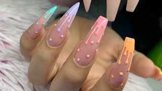 Watch Me Work: Drip, Drop w/ Ombré Cuticle Cuffs