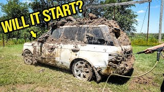 Fixing A Range Rover That Was Buried Underground For A Year Was A HUGE DISASTER