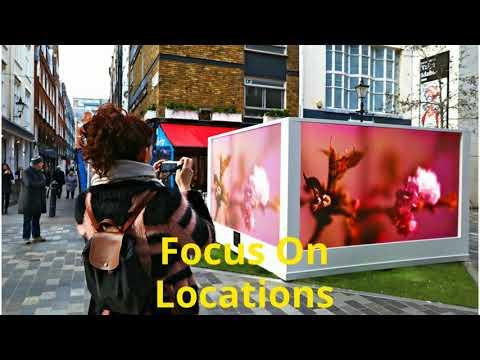 Digital Advertising Display Screens