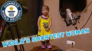 Meet the World's Shortest Woman - GWR Beyond The Record