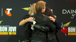 Telstra's Bon Jovi #1 Fan Competition Winner
