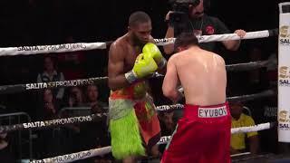 Jaron Ennis vs Bakhtiyar Eyubov FULL FIGHT