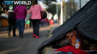 Migrant Caravan: More than 5000 people arrive in Mexico City
