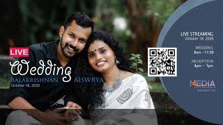 BALAKRISHNAN weds AISWARYA