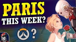 Overwatch - Paris Map Release Date this Week?  (Console & PC Release Discussion)