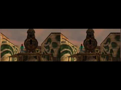 The Legend of Zelda: Majora's Mask Intro in 3D (yt3d:enable=true)