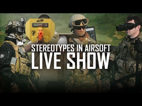 Airsoft Stereotypes Take 2 Live Show! w/ Bob & Bill! | AirsoftGI.com