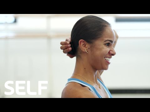 How to Do Misty Copeland's Perfect Ballerina Bun | Cover Shoots | SELF
