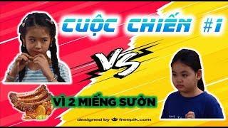 """Gia Đình Là Số 1 Phần 2   Cuộc chiến #1: Tâm Anh bị Lam Chi """"giựt"""" kẹp tóc vì hai miếng sườn"""