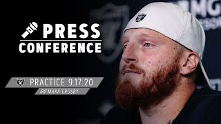 Maxx Crosby Discusses Importance of Forcing Turnovers, Containing Alvin Kamara | Las Vegas Raiders