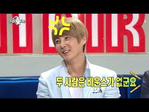 [HOT] 라디오스타 - 신혜성 vs 김동완, 신화 춤 최하위를 선발 댄스 배틀 20130508