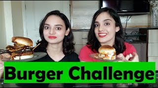 Burger Challenge | With a Twist | Food Challenge | Hindi | Life Shots