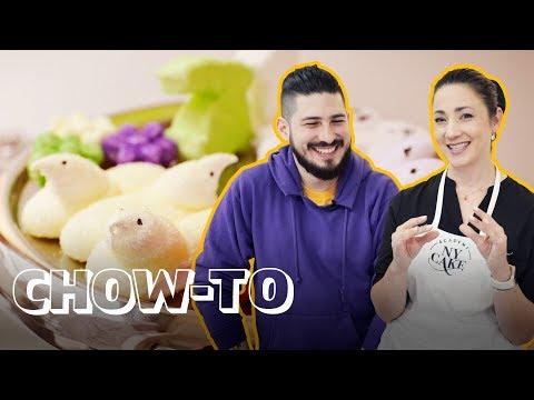 Learn to Make Easy Marshmallow Peeps!