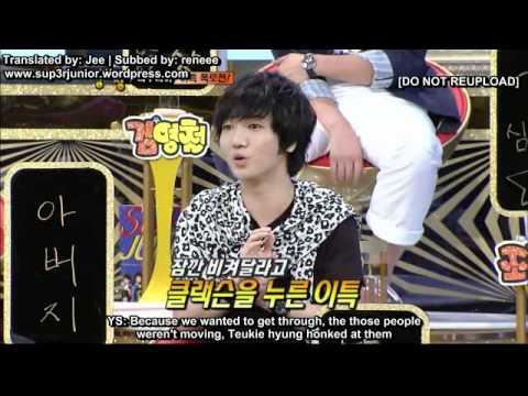 110830 Super Junior ѕтяσηԍ (Superior) нєαят [ENG SUB] Part 1/6
