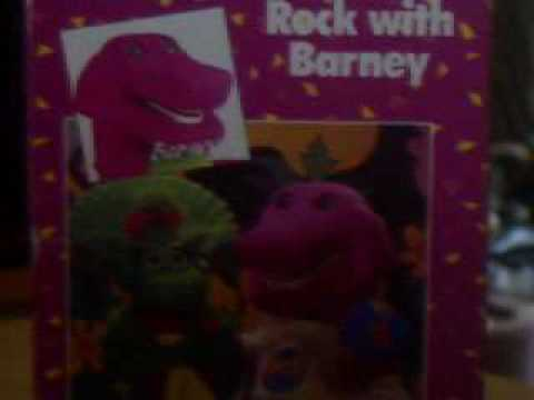 My Original 1991 Copy of Rock With Barney Video - YouTube