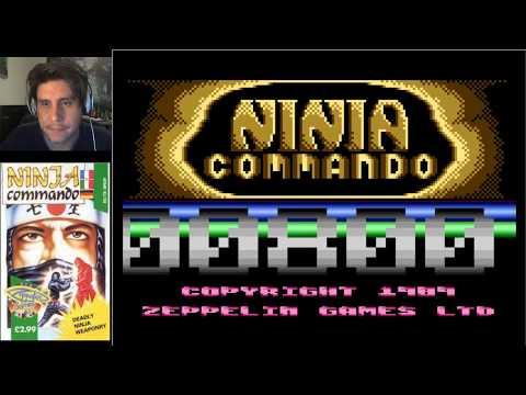 NINJA COMMANDO ATARI FINAL ( NIVELES 7 Y 8 )