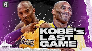 The Last 8 Minutes of Kobe Bryant's FINAL NBA Game | 60 Points vs Utah Jazz