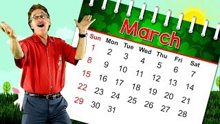 The Month of March | Calendar Song for Kids | Month of the Year Song | Jack Hartmann