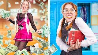 Poor Nerd vs Rich Cheerleader!