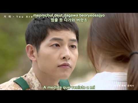 Gummy - You Are My Everything MV  (Sub Español - Hangul - Roma) [Descendants Of The Sun OST]