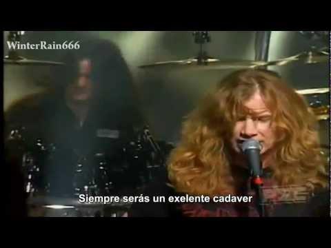 Megadeth - Sleepwalker (Subtitulado en Español) HD