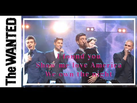 Baixar The Wanted - I Found You - Show Me Love America - We Own The Night - Children in Need Rocks 2013