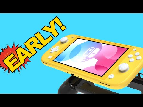 Early Nintendo Switch Lite Accessories!